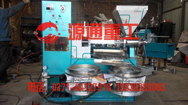 100型螺旋榨油机
